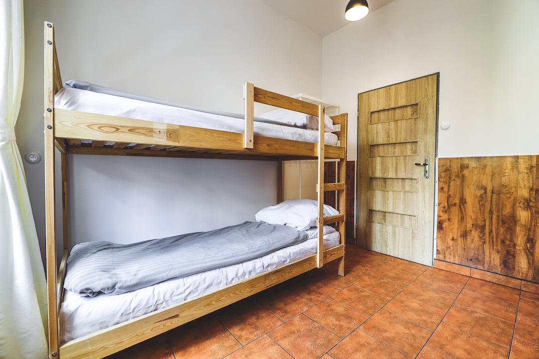 Prywatny pokój 2 osobowy z łóżkiem piętrowym